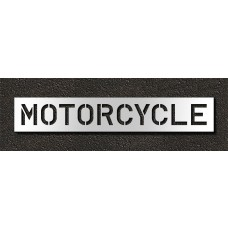 10 Inch - MOTORCYCLE Stencil