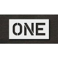 10 Inch - ONE Stencil