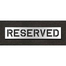 10 Inch - RESERVED Stencil
