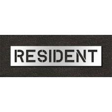 10 Inch - RESIDENT Stencil