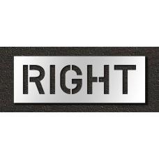 10 Inch - RIGHT Stencil