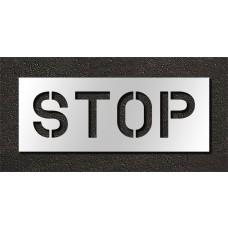 10 Inch - STOP Stencil