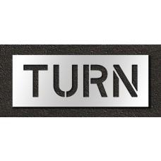 10 Inch - TURN Stencil
