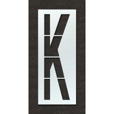 108 Inch - Airport FAA Letter K Stencil