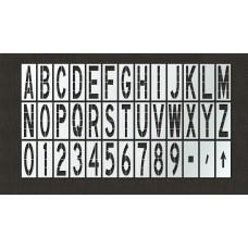 108 Inch - Airport FAA Stencil Kit