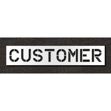 12 Inch - CUSTOMER Stencil
