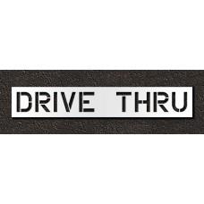 12 Inch - DRIVE THRU Stencil