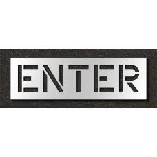 12 Inch - ENTER Stencil