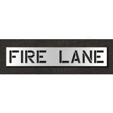 12 Inch - FIRE LANE Stencil