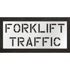 12 inch Forklift Traffic Stencil