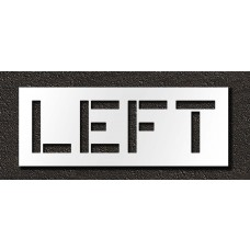 12 Inch - LEFT Stencil