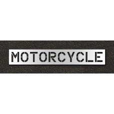 12 Inch - MOTORCYCLE Stencil