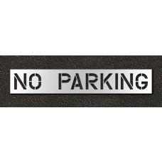 12 Inch - NO PARKING Stencil