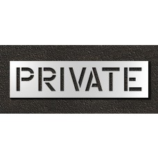 12 Inch - PRIVATE Stencil