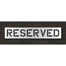 12 Inch - RESERVED Stencil