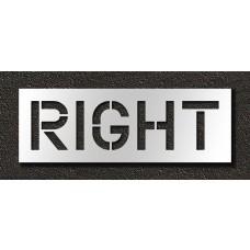 12 Inch - RIGHT Stencil