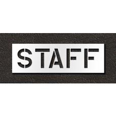 12 Inch - STAFF Stencil