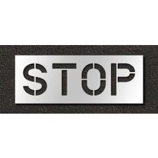 12 Inch - STOP Stencil