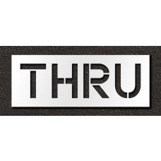 12 Inch - THRU Stencil