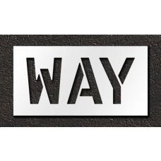 12 Inch - WAY Stencil
