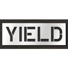 12 Inch - YIELD Stencil
