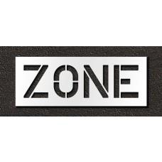 12 Inch - ZONE Stencil