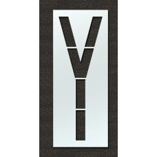 120 Inch - Airport FAA Letter Y Stencil