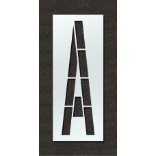 144 Inch - Airport FAA Letter A Stencil