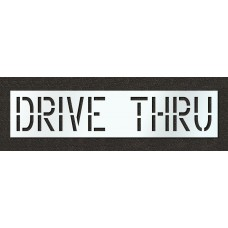18 Inch - DRIVE THRU Stencil