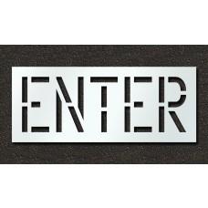 18 Inch - ENTER Stencil
