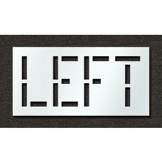 18 Inch - LEFT Stencil