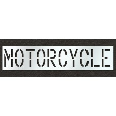18 Inch - MOTORCYCLE Stencil