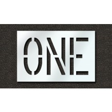 18 Inch - ONE Stencil