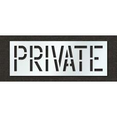18 Inch - PRIVATE Stencil