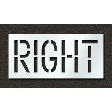 18 Inch - RIGHT Stencil