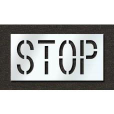 18 Inch - STOP Stencil