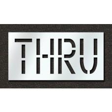 18 Inch - THRU Stencil