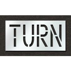 18 Inch - TURN Stencil
