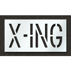 18 Inch - X-ING Stencil