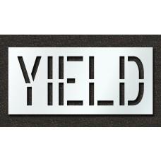 18 Inch - YIELD Stencil