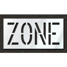 18 Inch - ZONE Stencil