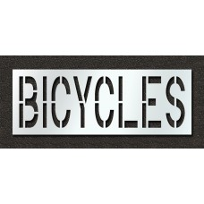 24 Inch - BICYCLES Stencil