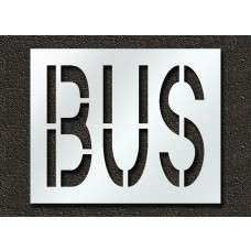 24 Inch - BUS Stencil