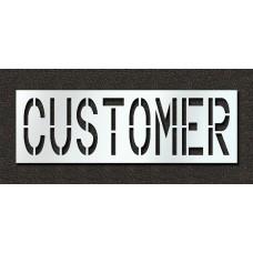 18 Inch - CUSTOMER Stencil - Maxi-Last - STL-108-71814