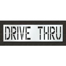 24 Inch - DRIVE THRU Stencil
