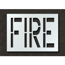 24 Inch - FIRE Stencil