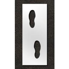 24 inch Foot Steps Stencil