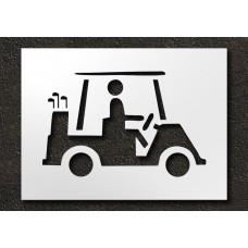 24 Inch - Cart Logo Stencil