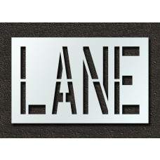 24 Inch - LANE Stencil