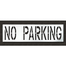 24 Inch - NO PARKING Stencil